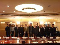 中國科學院院士代表團與理學院代表進行總結座談