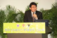 中央大學校長蔣偉寧教授致辭