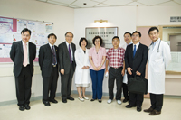 The delegation toured the SKL of Oncology in South China