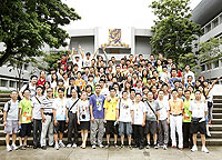 北川中學代表團參觀中大校園