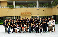 Students visit the Hong Kong Heritage Museum