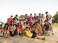 CUHK students participate in the student tour organized by Xiamen University