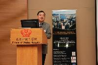Prof. Fu Xiao-Bing, Academician of Chinese Academy of Engineering delivered a keynote lecture
