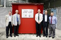 (From left) Prof. Wai-Yee Chan; Prof. Fok Tai-Fai; Dr. Anthony James; Prof. Chu Ka-Hou and Prof. Kenneth Lee