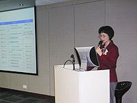 深圳市科技工貿和資訊化委員會科技創新支撐處處長涂歡女士在中國聯繫講座上,介紹深圳市的科技扶持政策