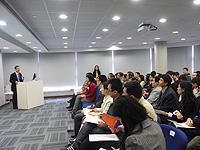 「中國聯繫講座」吸引了約九十名來自工程學院、理學院、醫學院,以及深圳研究院的教職員學參加