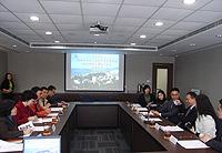 中大熱烈歡迎深圳市科技工貿和資訊化委員會科技創新支撐處代表團