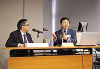許宏教授在「學者講座系列」發表演講