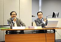 劉國祥教授在「學者講座系列」發表演講