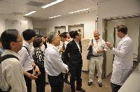 The working group members visit our School's animal holding facilities and the core laboratories