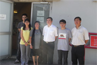 The delegation from Yunnan Provincial Science and Technology Department visits the Solar Energy Laboratory