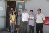 雲南省科技廳代表團參觀太陽能研究實驗室