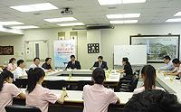 寧波大學校長聶秋華教授在逸夫書院演講