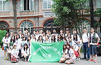 代表團參觀南京大學