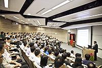 科技部基礎司重大科學研究計畫處傅小鋒處長為中大主持中國聯繫講座,概括介紹國家重大科研計劃