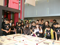 The student delegation visits to ICAC