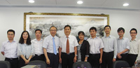 The delegation from Nanjing University visits CUHK