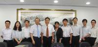 南京大學大學代表團到訪中大