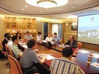 中山大學代表團到訪中大