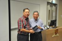Prof. Michael S.C. Tam (left) and Prof. Chan Wai-yee (right)