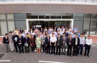 A group photo of our School members and guests joining the SBS Research Day 2012.