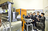Delegation from Chinese Academy of Sciences: The delegation visits the Solar Energy Laboratory