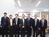 Delegation from Shenzhen University: The delegation visits the Institute of Space and Earth Information Science