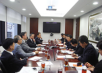 Delegation from Shenzhen University: The delegation meets with CUHK senior representatives to exchange ideas on the possible collaborations between two institutions