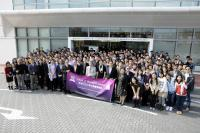 Group photo of invited guests and our School members taken outside Lo Kwee-Seong Integrated Biomedical Sciences Building