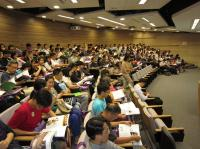 Snapshots taken during the Orientation Day held at the Lo Kwee-Seong Integrated Biomedical Sciences Building