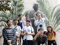 同學參觀新亞書院。