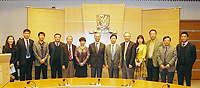 CUHK warmly welcomes the delegation from ACC