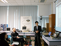The delegation from China Academy of Space Technology visits the Advanced Robotics Laboratory