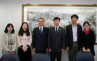 The delegation from Taiwan Chiao Tung University