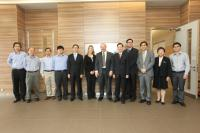 Group photo with Prof. Bruce Beutler (6th from right) during his visit to our School