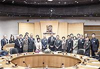 社科院訪問團與中大成員合照