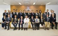 Group photo taken in the joint scientific meeting: Prof. Chan Wai-Yee (4th from right of the back row), Prof. Eugene Ponomarev (7th from left of the back row) and Prof. Andrew Chan (3rd from left of the back row)