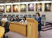 中國聯繫講座2013:中大副校長張妙清教授致歡迎辭