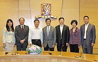 中國聯繫講座2013:中大熱烈歡迎深圳市科技創新委員會代表團來訪