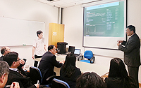 The delegation from Peking University visits the Faculty of Engineering
