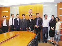 Delegation from Ningbo Education Bureau
