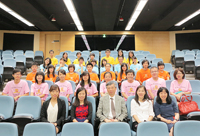 Prof. Fung Tung (middle, front row), Associate-Pro-Vice-Chancellor attends the opening ceremony of the 3rd Green Summer Camp