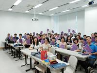 內地大學生香港文化交流夏令營:大合照