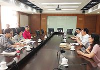 中大副校長張妙清教授參觀中國社會科學院考古所
