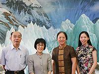 中大副校長張妙清教授(左二)與中國科學院方新書記(右二)會晤