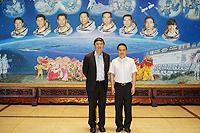 Prof. Joseph Sung, Vice-Chancellor of the Chinese University of Hong Kong (CUHK) and Director Prof. Deng Yibing of ACC