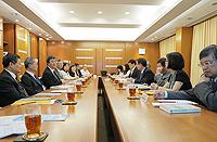 台灣中央大學訪問團與中大代表會晤