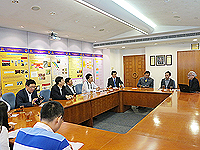 The delegation from Jilin Province visits the Institute of Chinese Medicine