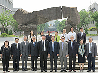 The delegation from Taiwan Central University visits the CUHK