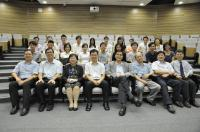 Group photo of supervisors and participating students